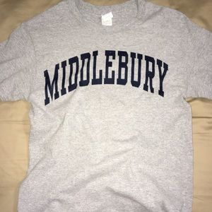 Tops - MiddleBury College TShirt